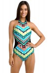 Colorful-Tribal-Print-High-Neck-One-Piece-Maillot-LC41856-4