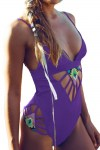 Purple-Padded-Hollow-Out-One-Piece-Swimsuit-LC41622-2